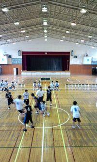 バスケ試合1