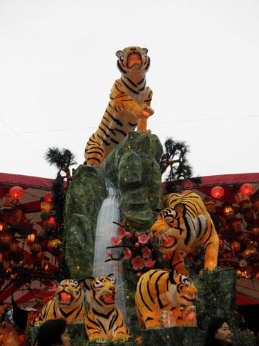 虎ランタン