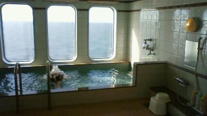 フェリー内大浴場