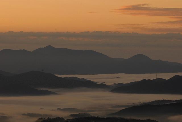 蒜山三座の雲海2