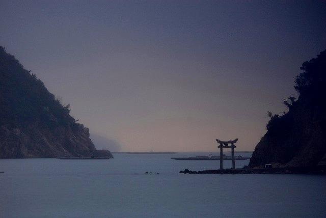 長島にて2