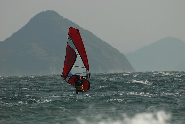 王子ヶ岳のウインドサーフィン7