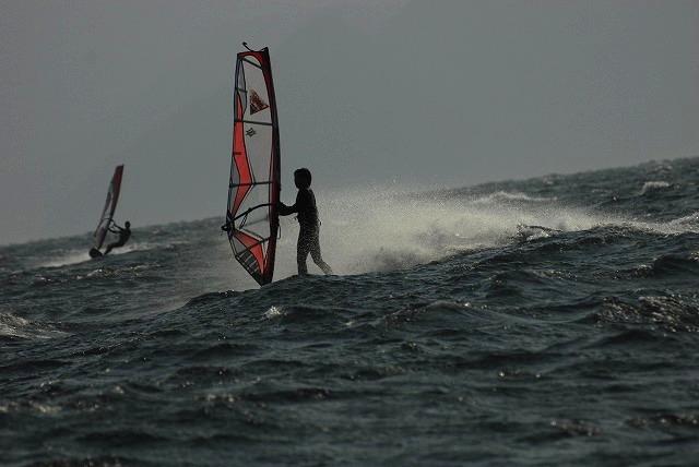 王子ヶ岳のウインドサーフィン12