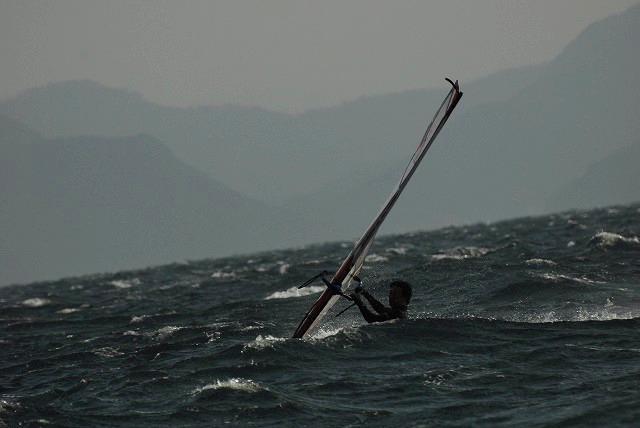 王子ヶ岳のウインドサーフィン13