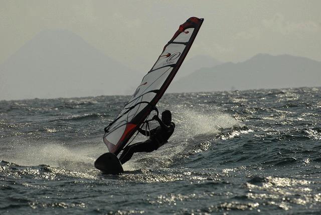王子ヶ岳のウインドサーフィン14