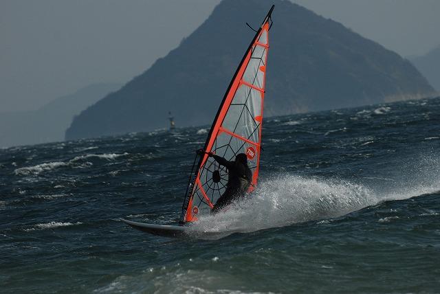 王子ヶ岳のウインドサーフィン15
