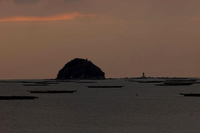 錦海湾の日の出1