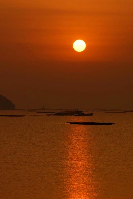 錦海湾の日の出9