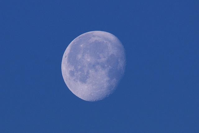 錦海湾から見る月1