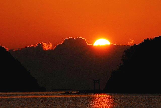 長島の日の出2