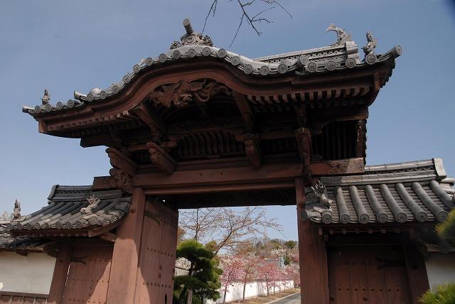 妙林寺の三門
