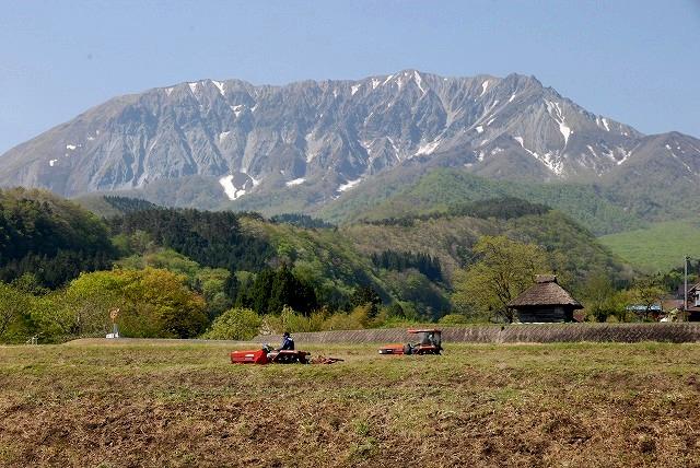 御机から見る大山3-2