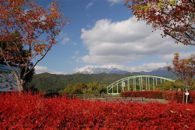 大山と橋1