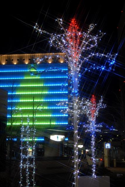 岡山駅のイルミネーション11