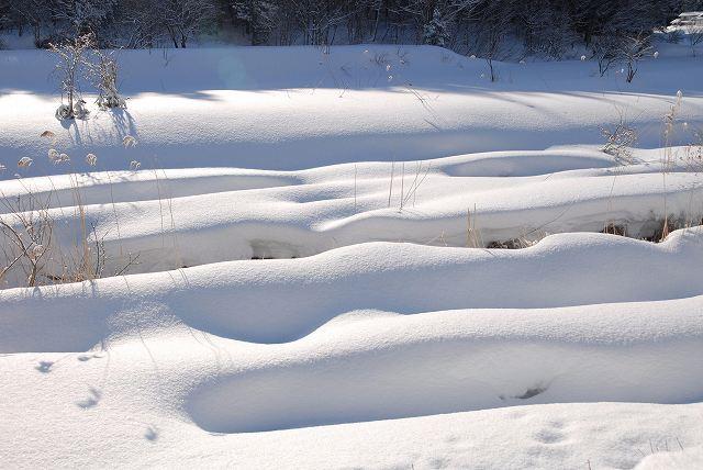 上斎原の雪景色2