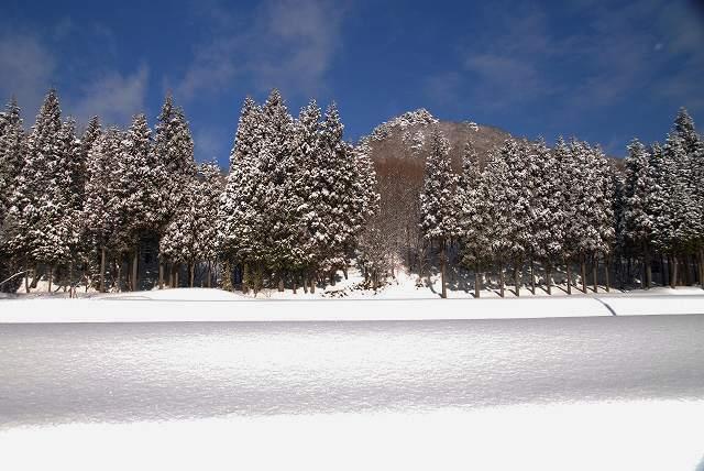 上斎原の雪景色4