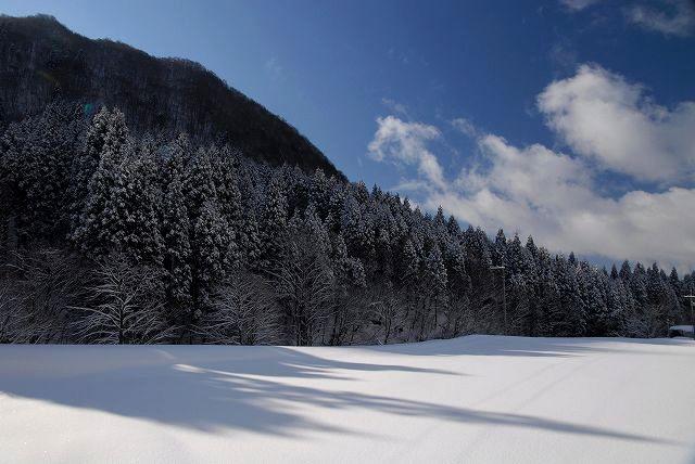 上斎原の雪景色7