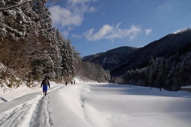上斎原の雪景色8