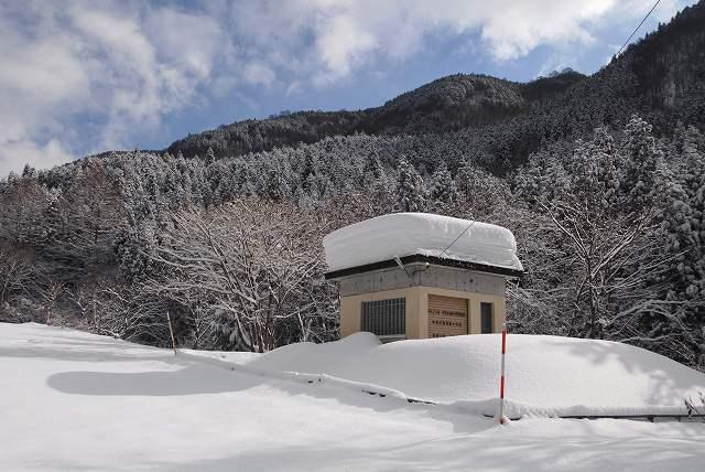 上斎原の雪景色11