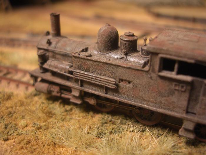 Nゲージ 蒸気機関車 B6