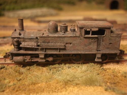 Nゲージ 蒸気機関車 B6 2