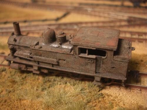 Nゲージ 蒸気機関車 B6 3