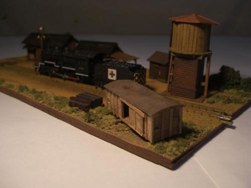 蒸気機関車 停車場 3