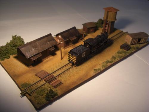 蒸気機関車 停車場 1