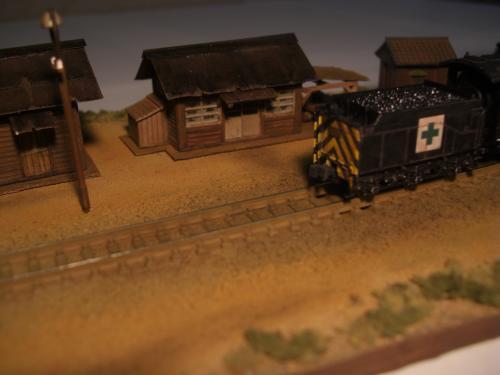 蒸気機関車 停車場 2