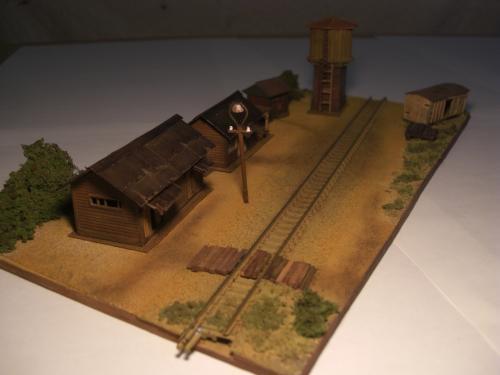 蒸気機関車 停車場 4