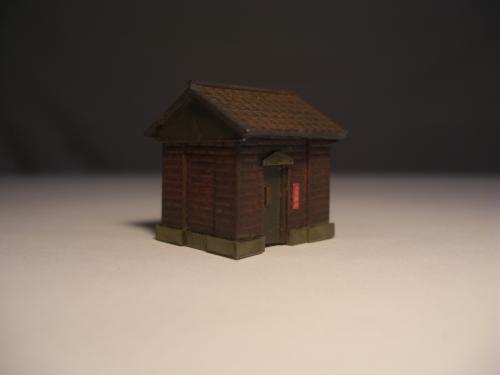 Nゲージレイアウト オイル倉庫4