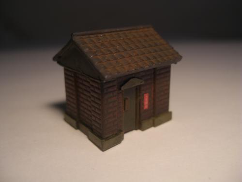 Nゲージレイアウト オイル倉庫1