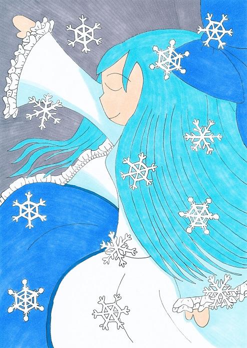 四季女神 白姫.2