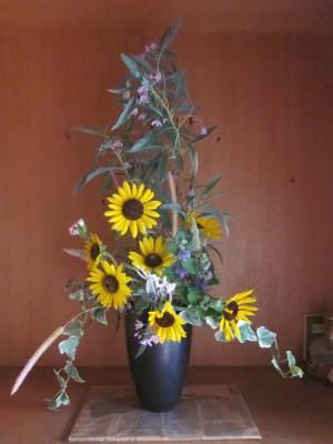 庭の花で50