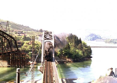 落合鉄橋のD51002
