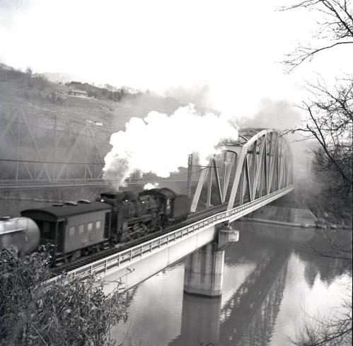 落合鉄橋のD51000