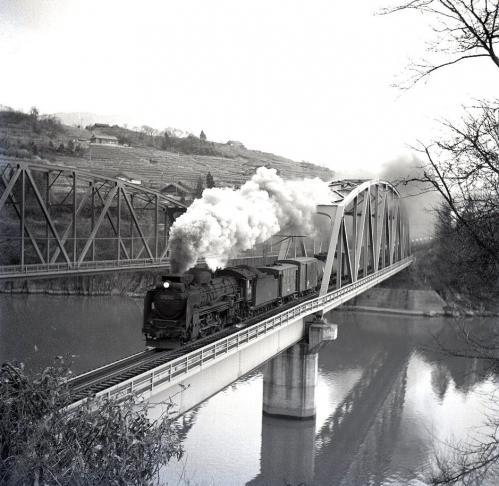 落合鉄橋のD51001