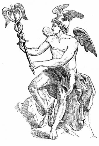 有翼のヘルメス