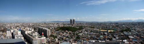 20121005 堺市役所展望台 panorama 00-0