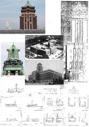 00 市役所の時計台 集合画像 0