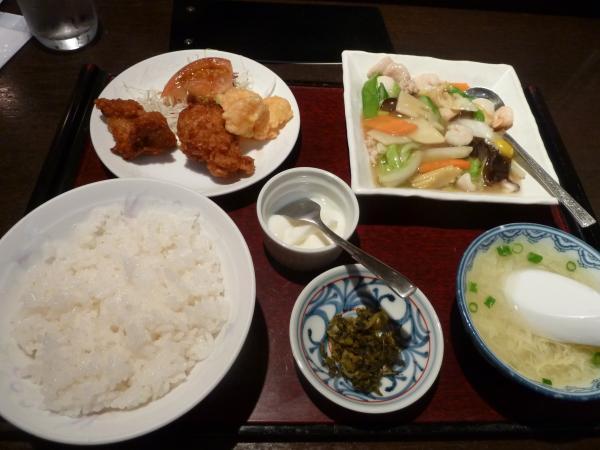 八宝菜ランチ4