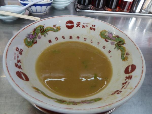 残ったスープ6