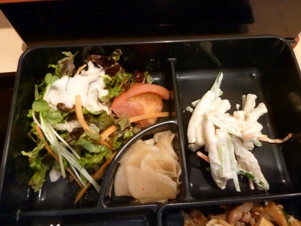 サラダと漬物7