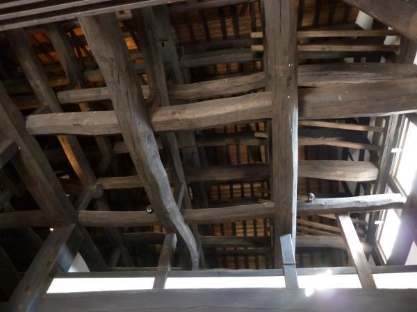 天井の梁4