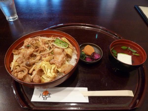 豚キムチ丼5