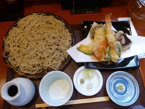 天ぷらそば上4