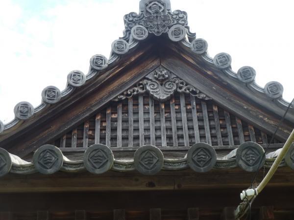 善応寺屋根11