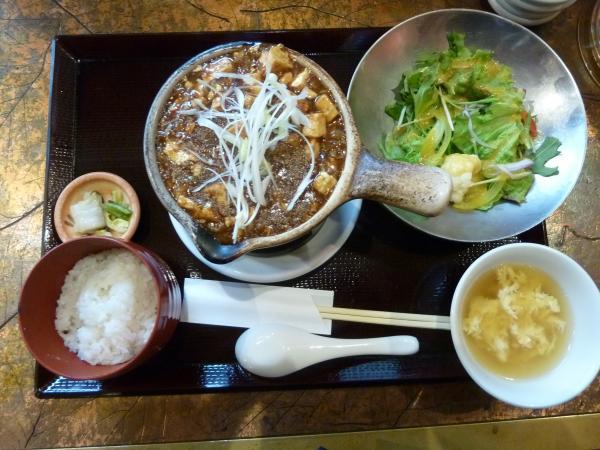 麻婆豆腐ランチ4