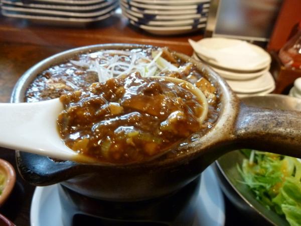 麻婆豆腐アップ9