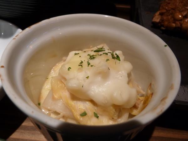 白菜と湯葉の和風グラタン5